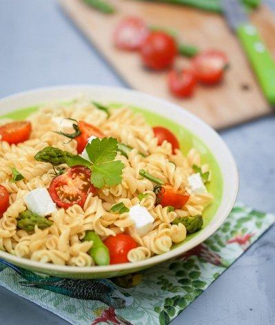 Salade de torsettes aux asperges