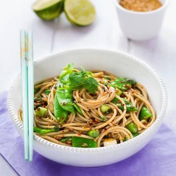 Spaghetti sauce soja