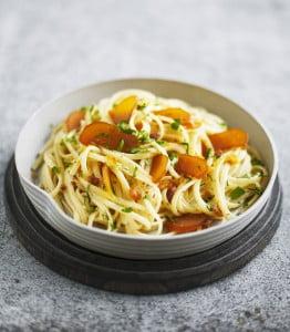 Spaghetti à la poutargue