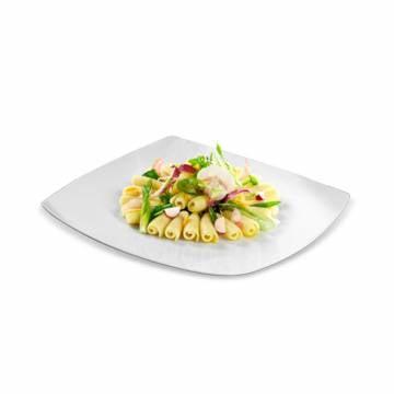 Spiraline aux petits légumes et pastrami