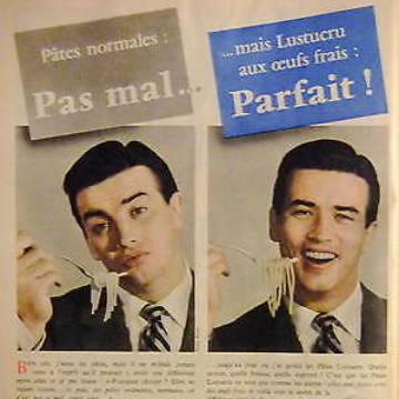 La marque Lustucru - Affiche publicitaire vintage - Parfait