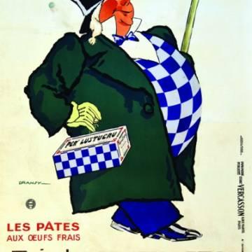 La marque Lustucru - Affiche publicitaire vintage - Favoris des ménagères