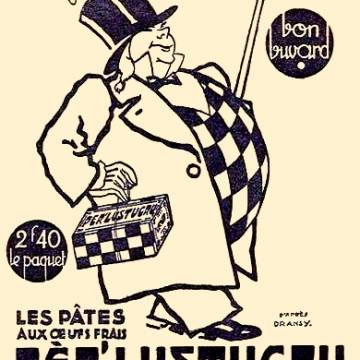 La marque Lustucru - Illustration vintage - PER'LUSTUCRU (Rare) ©Dransy_Cartier-Millon
