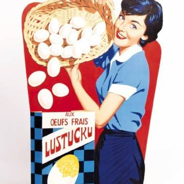 La marque Lustucru - Illustration vintage - La ménagère