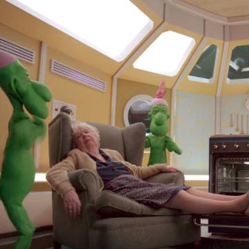 Publicité Lustucru - 2015 : Les martiens sont fêlés de Germaine