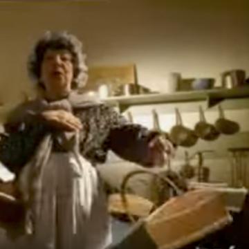 Publicité Lustucru - 1997 : Germaine, l'oeuf ou la poule